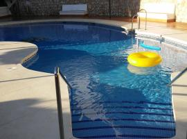 apartment with 2 bedrooms in benalmádena, with wonderful sea view, pool acces...