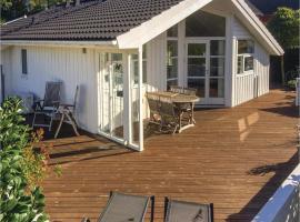 Three-Bedroom Holiday Home in Aabenraa