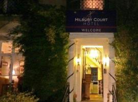 Hilbury Court Hotel, Trowbridge (рядом с городом West Ashton)