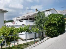 Stara Baska Apartment Sleeps 5 Air Con WiFi