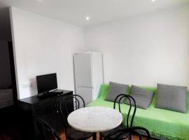 studio in castelldefels, with wonderful city view, furnished garden and wifi ...
