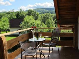 B&B Plitvica Lodge, Плитвица-Село (рядом с городом Osredak)