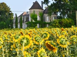 Saint-Martin-de-Riberac Chateau Sleeps 16 Pool WiFi