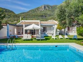 Barbati Villa Sleeps 6 Pool