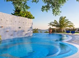 Ellinika Villa Sleeps 4 Pool Air Con WiFi