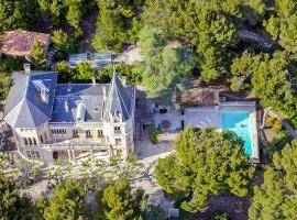 Vacqueyras Chateau Sleeps 12 Pool WiFi