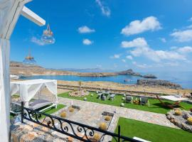 Lindos Villa Sleeps 4 Air Con WiFi