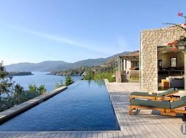 Kardamyli Villa Sleeps 10 Pool Air Con