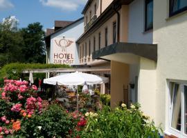 Hotel zur Post, Leipheim (Echlishausen yakınında)