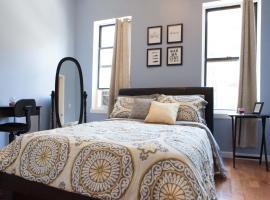 Spacious Uptown Manhattan Bedroom