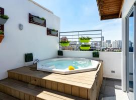 PRIVATE JACUZZI AND City Views | PH