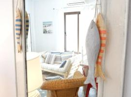 house with 2 bedrooms in platja de migjorn, with furnished garden and wifi - .