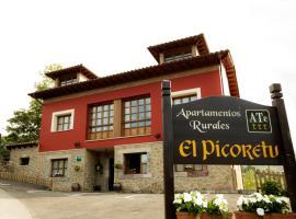 Apartamentos Rurales El Picoretu, Mestas de Con (Beceña yakınında)
