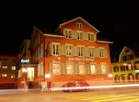 Hotel zum alten Bahnhof, Gossau (Flawil yakınında)