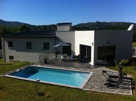 villa contemporaine piscine