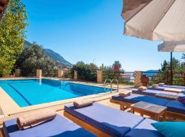 Kalkan Villa Sleeps 11 Pool Air Con WiFi