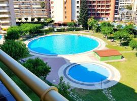 apartamento de 2 habitaciones en salou, con acceso a piscina, jardín amueblad...