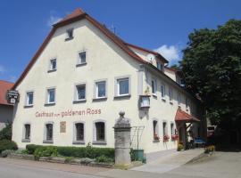 """Gasthaus zum """"Goldenen Roß"""""""