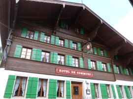 Hotel de Commune, Gstaad
