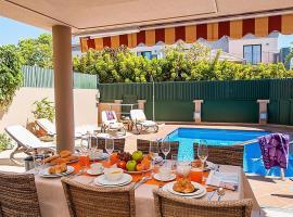 Maspalomas Villa Sleeps 8 Pool Air Con WiFi
