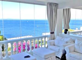 Breathtaking Costabrava seaview apartment 5m beach