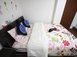 TQ52 apartment in Akihabara area with double bed