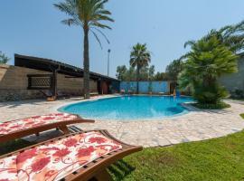 Masseria con piscina vicino Otranto