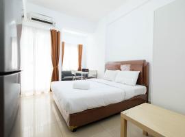 Homey Studio Room The Nest Apartment By Travelio