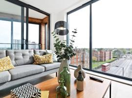 Sophisticated 2 Bed apt w/Balcony in Wimbledon