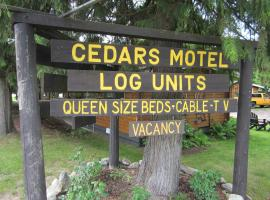 The Cedars Motel, Sicamous