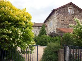 Chambres d'hôtes Les Varennes, Beaulieu (рядом с городом Lavoûte-sur-Loire)