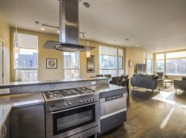 Rooftop Deck City Views! 4 BEDS! Luxe 3 Story Loft