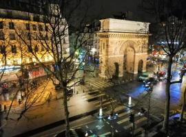 Super central-Paris 3rd district, 1min walk to metro lines 4/8/9