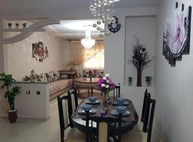 « Lilia-appart » Luxe, confort et calme dans 130 m2 et 4 chambres avec garage au cœur d'Oujda.
