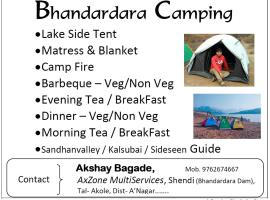 Bhandardara Camping - AxZone 9762674667