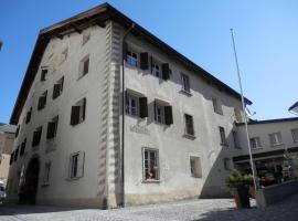 Palazzo Mÿsanus Samedan