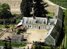 Chambres et tables d'hôtes Le Voriou, Couddes (рядом с городом Oisly)