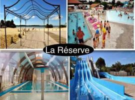 Mobilhome de Luxe Camping La Reserve