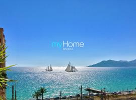 My Home Riviera Apartment - Cannes sea view