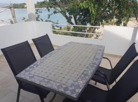Studio apartment in Pašman with Seaview, Terrace, Air condition, WIFI (4664-1)