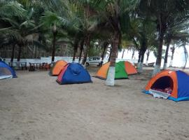 Born4tours beach camping site