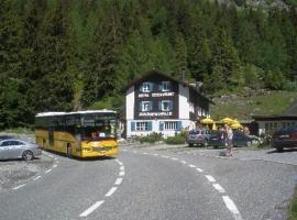 Hotel Rhonequelle, Oberwald (Grimsel Hospiz yakınında)