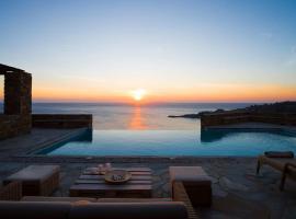 Luxury Cycladic Villa-Enjoy Infinity Pool Sunsets