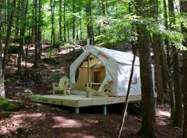 Tentrr - Pleasant Mountain Stream Camp