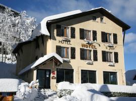 Hôtel Le Glacier, Гурет