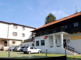 Hotel Valnovka, Kamenice (Krhanice yakınında)