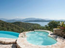 Agios Stefanos Sinion Villa Sleeps 8 Pool WiFi