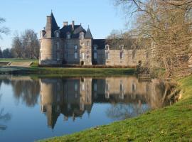 Chateau de Canisy, Canisy (рядом с городом Carantilly)