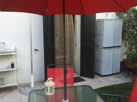 Apartment mit Pool -Castion It