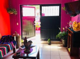 Hostal La Generala, 100 % mexicana